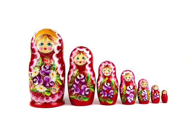 Matrioshka, Wooden, Culture, Symbol, Retro, Toy, Russia