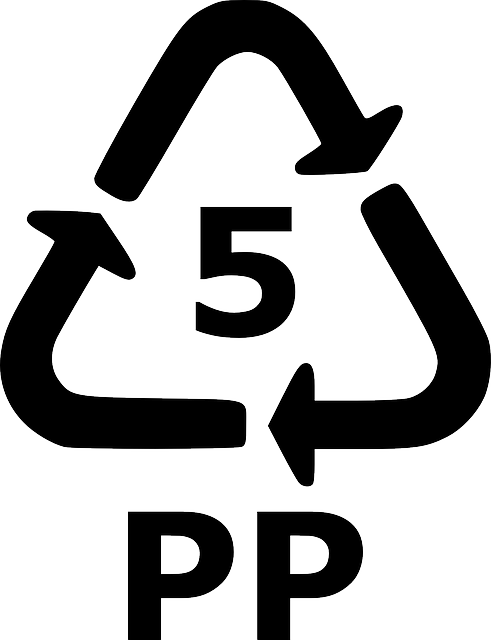 Recycle, 5, Pp, Recycling, Plastic, Sign, Symbol, Icon