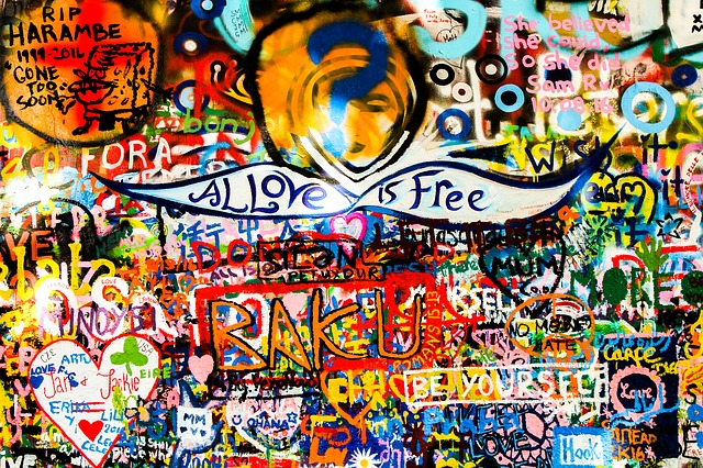 Wall, Colors, Signs, Symbol, Spray, Painting