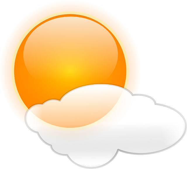 Sun, Clouds, Weather, Cloudy, Symbol