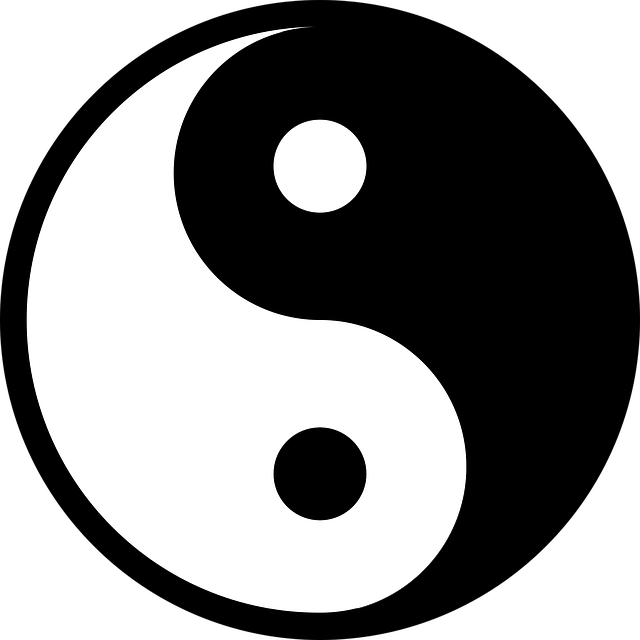 Yang, Yin, Yin Yang, Chinese, Symbol, Good Bad