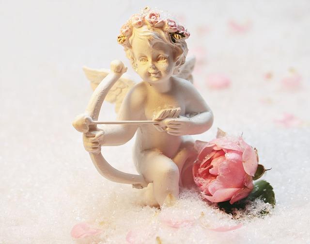 Love Angel, Angel, Amor, Fig, Symbolism, Feelings, Luck