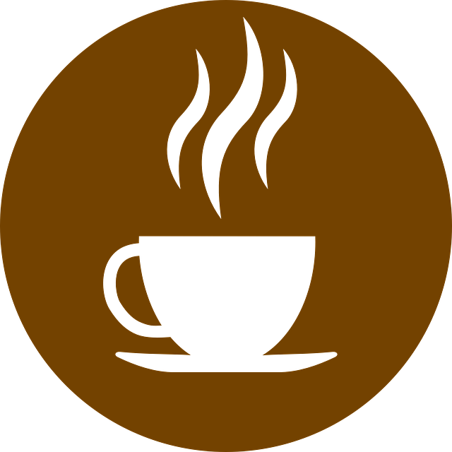 Coffee, Brown, Round, Symbols, District, Cup, Heiss