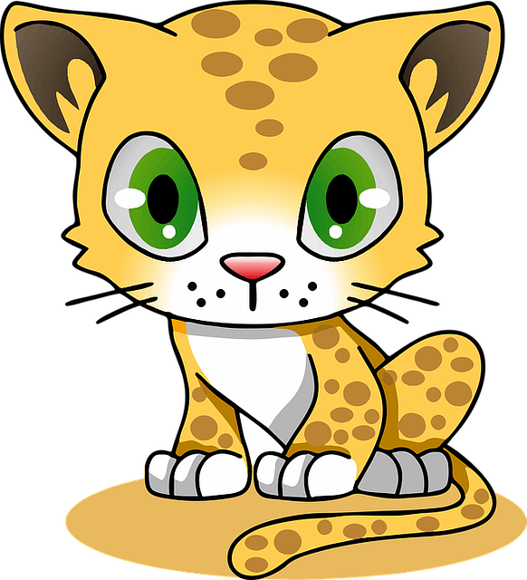 Cartoon, Cat, Character, Feline, L, Leopard, T-shirts