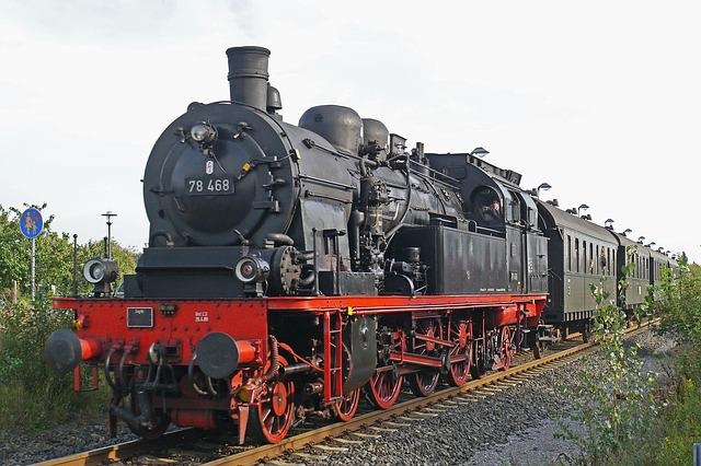 Steam Locomotive, Tank Locomotive, Prussian, T18, T 18
