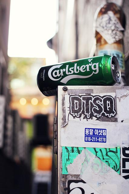 Beer Cane, Beer, Heineken, Hongdae, Tabitha, Alley