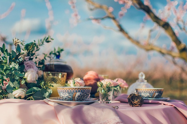 Tea, Cup, Drink, Table, Traditional, Nature