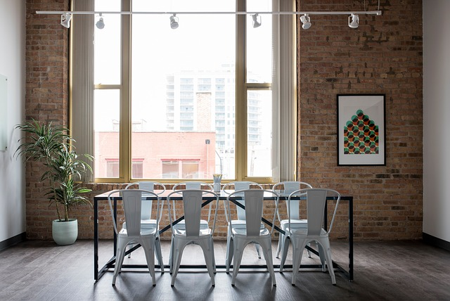 House, Interior, Design, Table, Chairs, Furniture