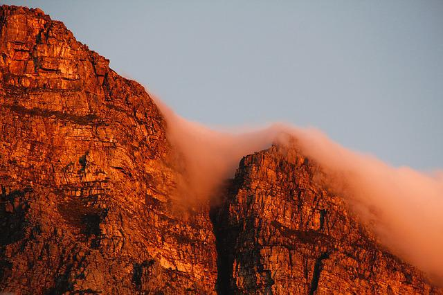 Table Mountain, Cape Town, South Africa, Sky