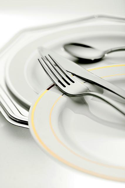 Fork, Table, Plate