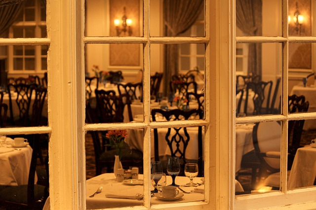 Dining Room, Restaurant, Window, Table Setting, Table