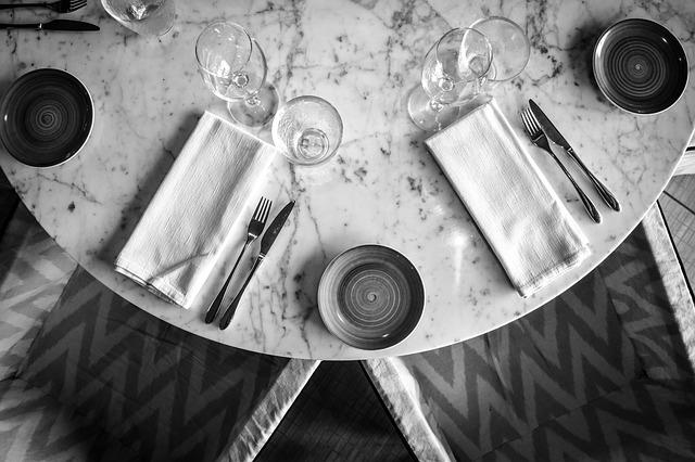 Table, Table Setting, Event, Utensils
