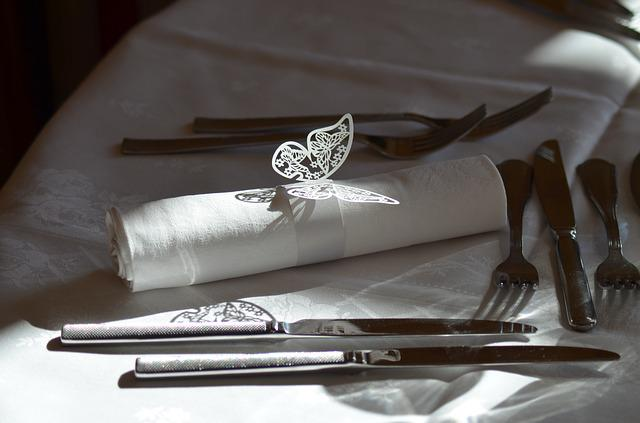 Table, Table Wedding, Cutlery, Wedding, Event, Knives