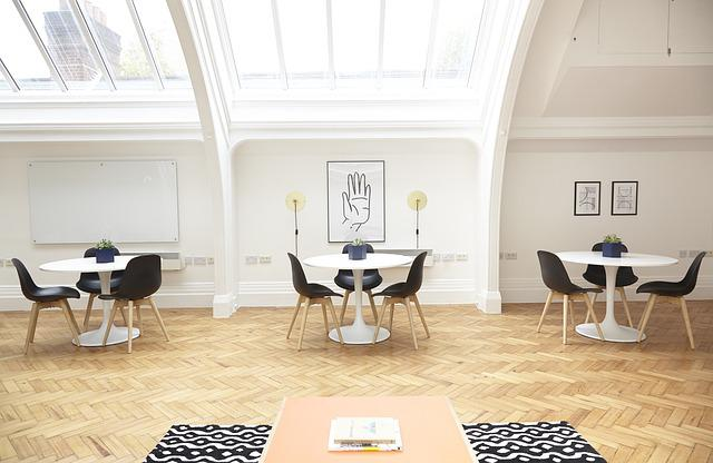Tables, Chairs, Furniture, Indoors, Interior Design