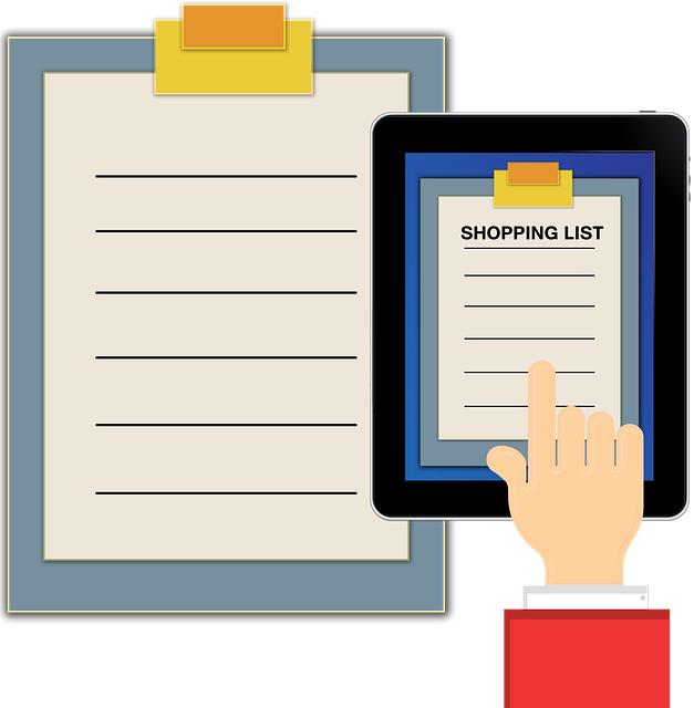 List, Shopping List, Tablet, Smartphone, Mobile Phone