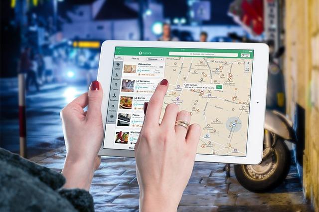Ipad, Map, Tablet, Internet, Screen, Multimedia