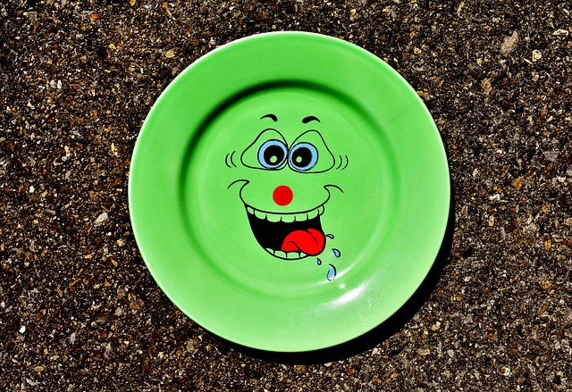 Plate, Tableware, Smiley, Cute, Porcelain, Colorful