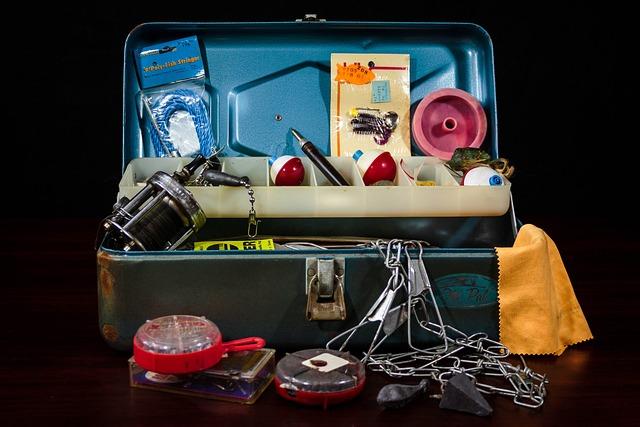 Tackle Box, Fishing Supplies, Fishing Gear, Tackle