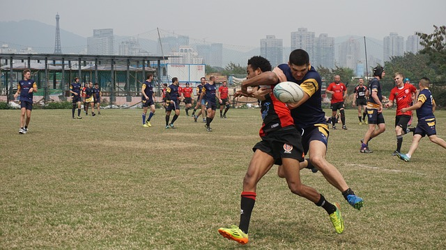 Rugby, Sports, Men, Team, Tackle, Workout