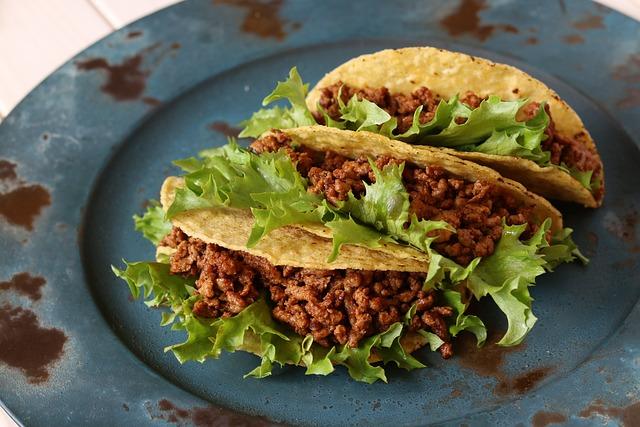 Taco, Mexican, Beef, Food