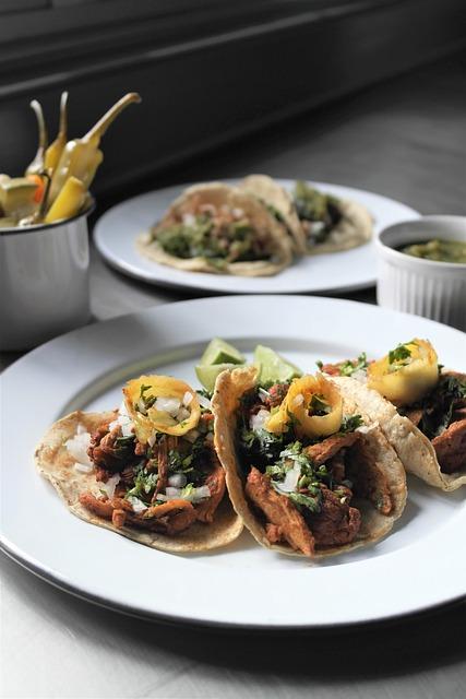 Tacos Al Pastor, Taco, Carne, Pork, Tacos, Cooked