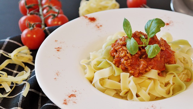 Noodles, Tagliatelle, Pasta, Minced Meat, Minced ' Meat