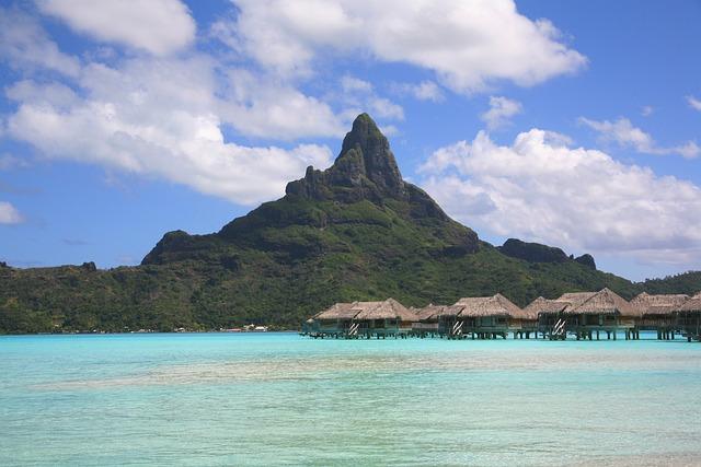 Bora Bora, Tahiti, Atoll, Society Islands