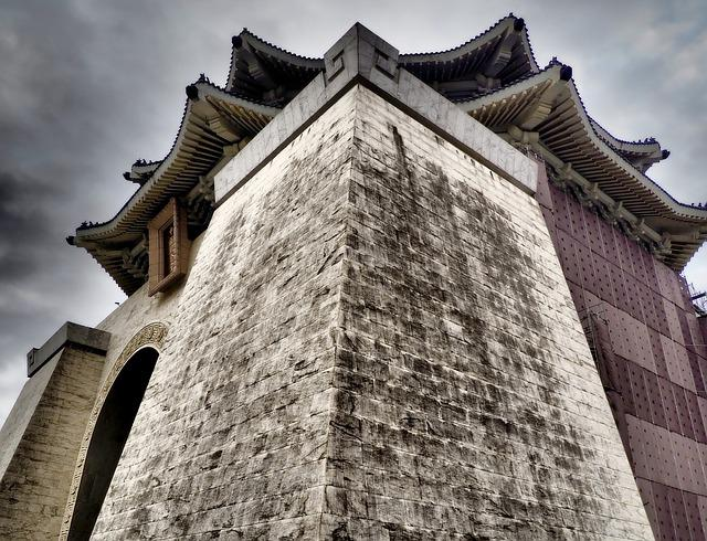 Taipei, Taiwan, Asia, Chiang Kai-shek Memorial Hall