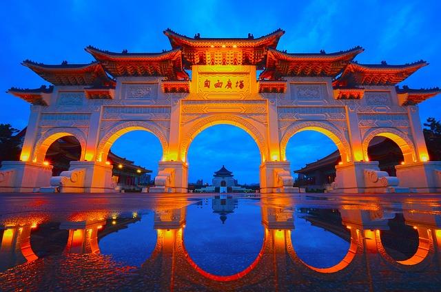 Taipei Taiwan, Urban Landscape, Reflection