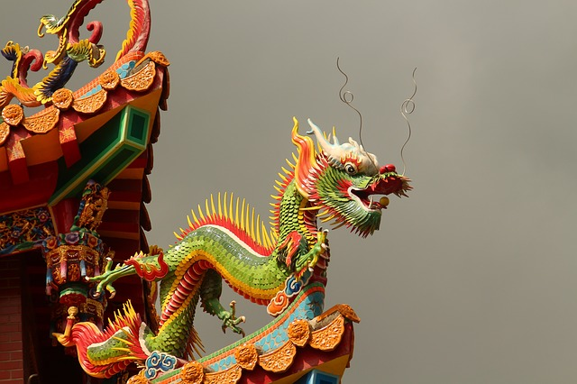 Dragon, Taiwan, Chinese, Chinese Temple, Hualien