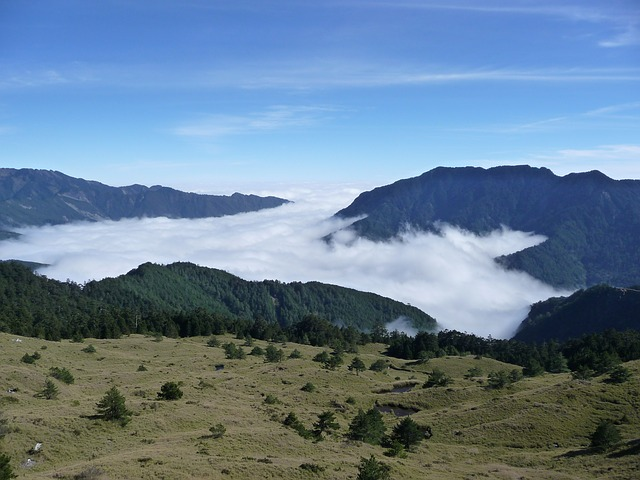 Taiwan, Mt, Clouds