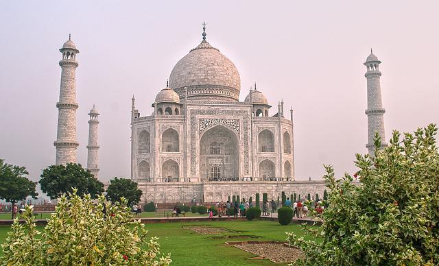 Taj Mahal, Agra, India, Architecture, Mausoleum, Taj