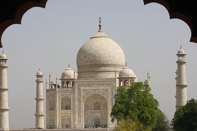 India, Taj, Mahal, Monument, Travel