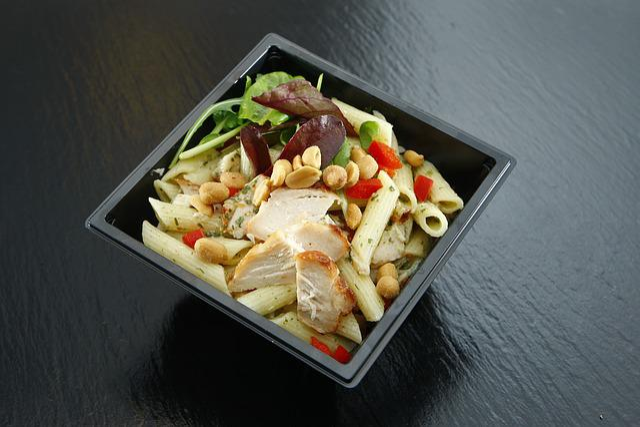 Takeaway, Salad, Mixed Salad, Rocket, Dining, Food