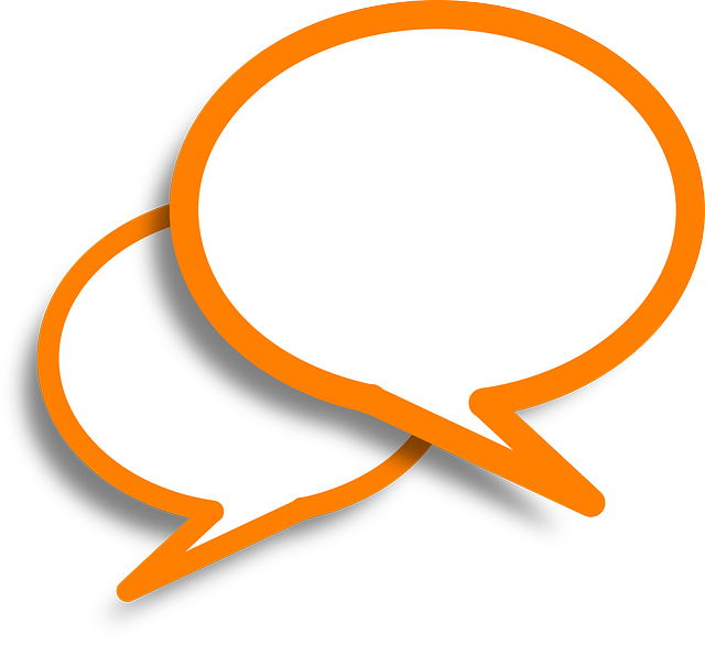 Speech Bubbles, Comments, Orange, Bubble, Speech, Talk