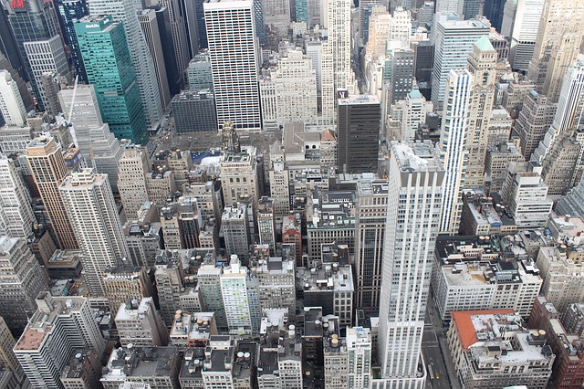 New York, Buildings, Tall, Top View, Urban, City