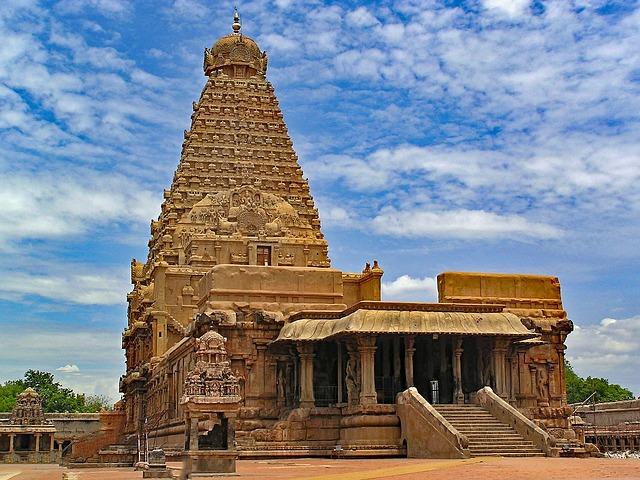 Brihadishvara, Temple, Thanjavur, Tamil Nadu, India