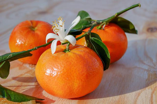 Tangerines, Clementines, Fruit, Citrus Fruit, Tropical
