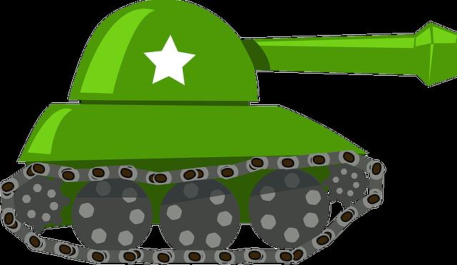 Tank, War, Battle, Military