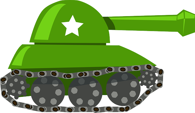 Tank, War, Battle, Military