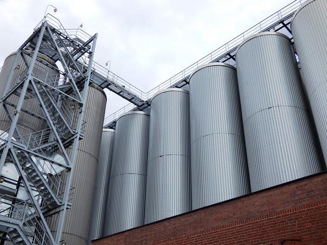Brewery, Tychy, Vats, Vat, Silo, The Tank, Tanks