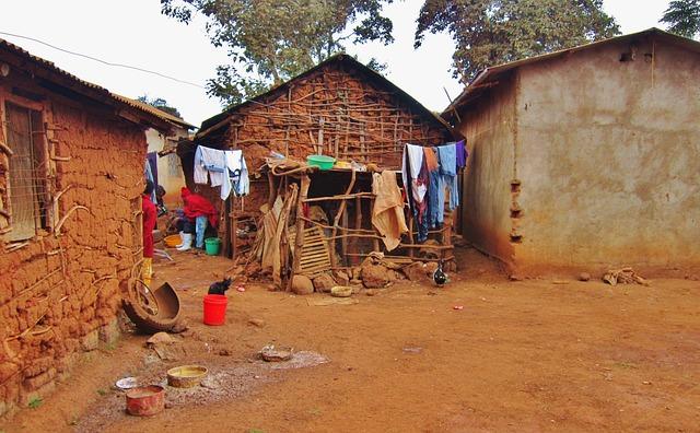 Tanzania, Karatu, Africa, Architecture, African Village