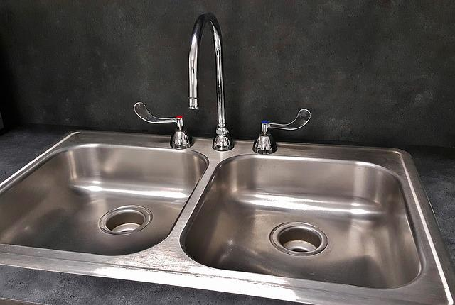Basin, Sink, Kitchen Sink, Tap, Drain, Faucet