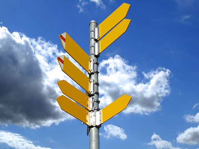 Directory, Signposts, Trail, Direction, Arrow, Target