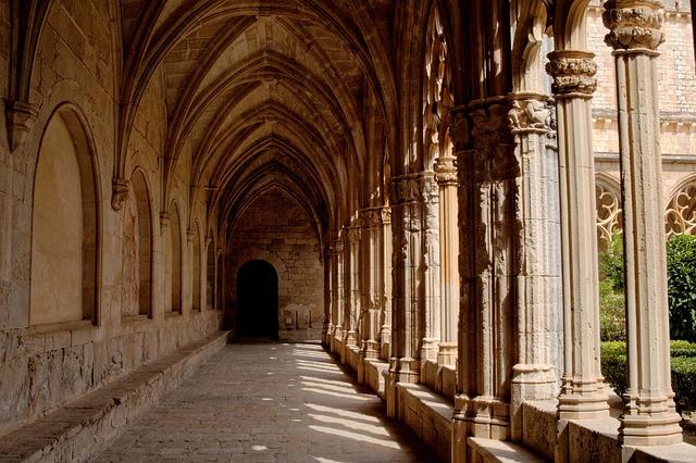Monastery, Gang, Tarragona, Catalonia, Spain