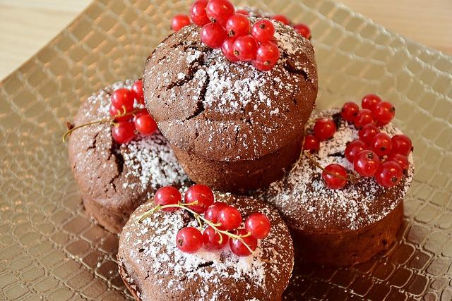 Muffin, Cake, Tart, Dessert, Sweet, Delicious, Bake