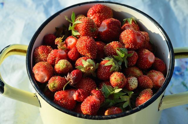 Strawberry, Berry, Summer, Tasty, Red, Closeup, Sun