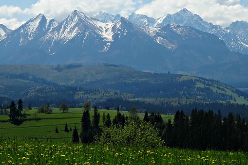 Mountains, Spring, Tatry, Nature, Landscape