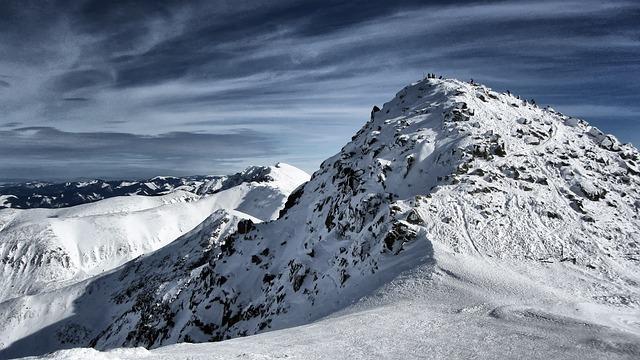 Mountains, Winter, Tatry