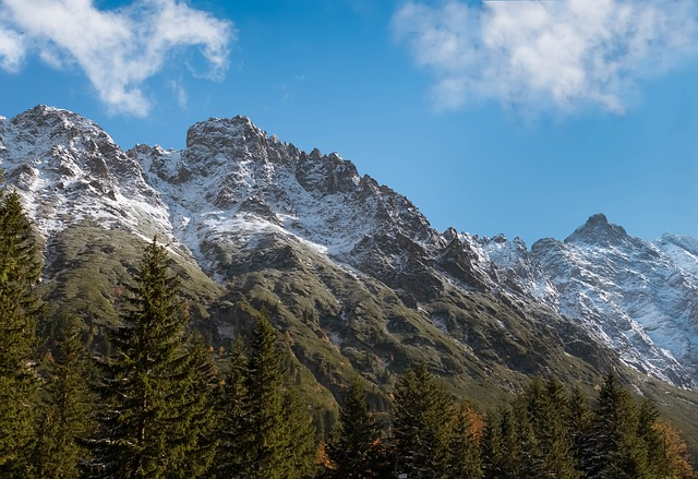 Mountain, Tatry, Snow, Landscape